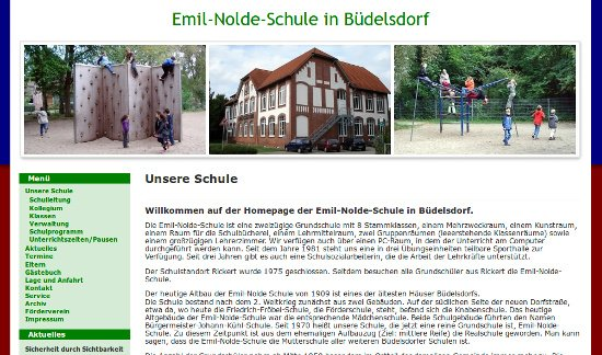 Screenshot - Emil-Nolde-Schule in Büdelsdorf